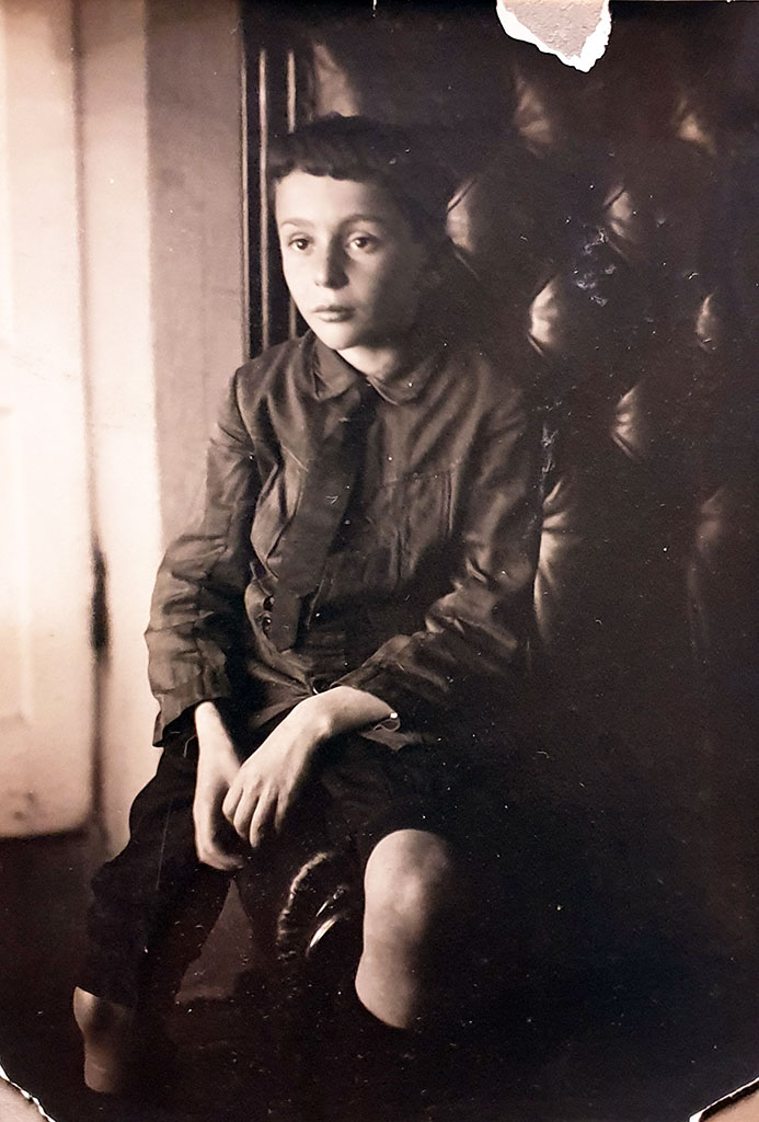 Photo 2. Mischa Werzhbinskiy in childhood