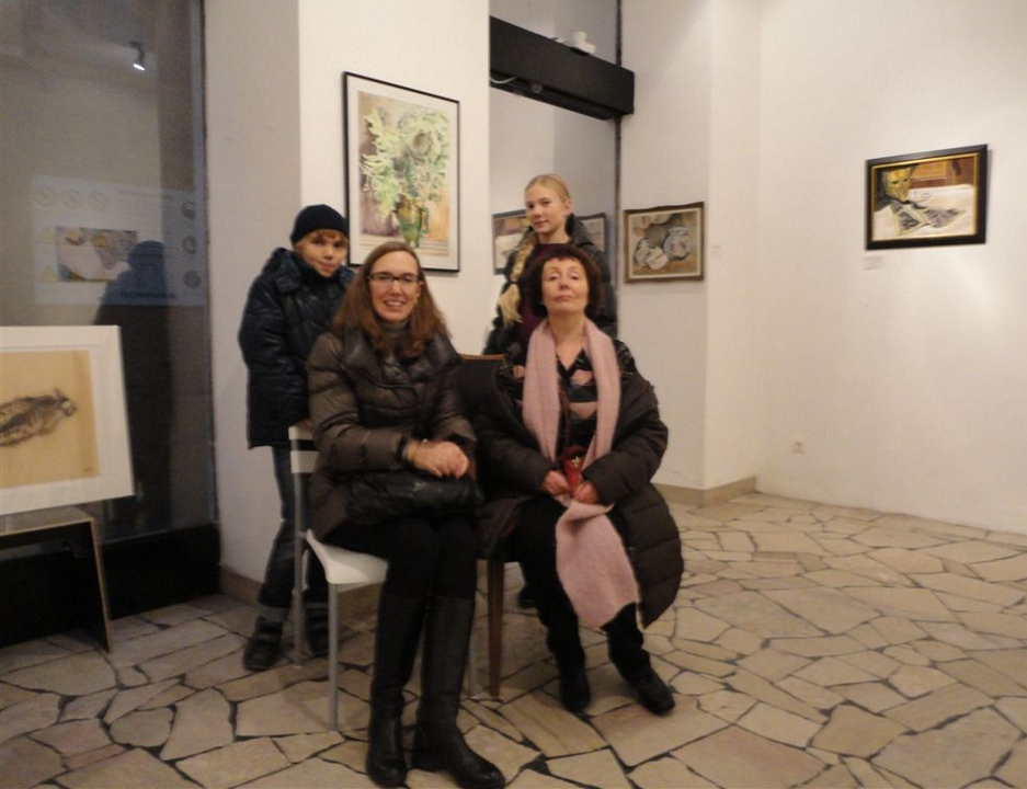 "Exhibition ""NinaWR in Oil"" at the Gallery Kunstraum, photo 3"