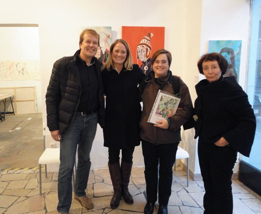 "Exhibition ""NinaWR in Oil"" at the Gallery Kunstraum, photo 6"