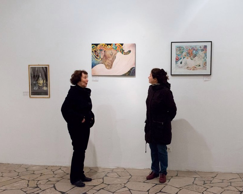 "Exhibition ""NinaWR in Oil"" at the Gallery Kunstraum, photo 10"