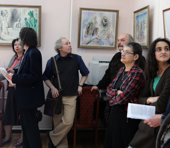 "Opening exhibition ""Eternity"" at Study Center"