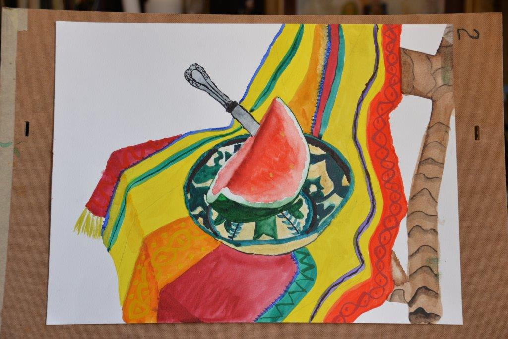 """Watermelon"", Anna H., 10 years"