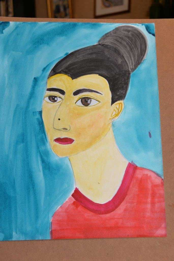 """Portrait"", Aviva M., 11 years"