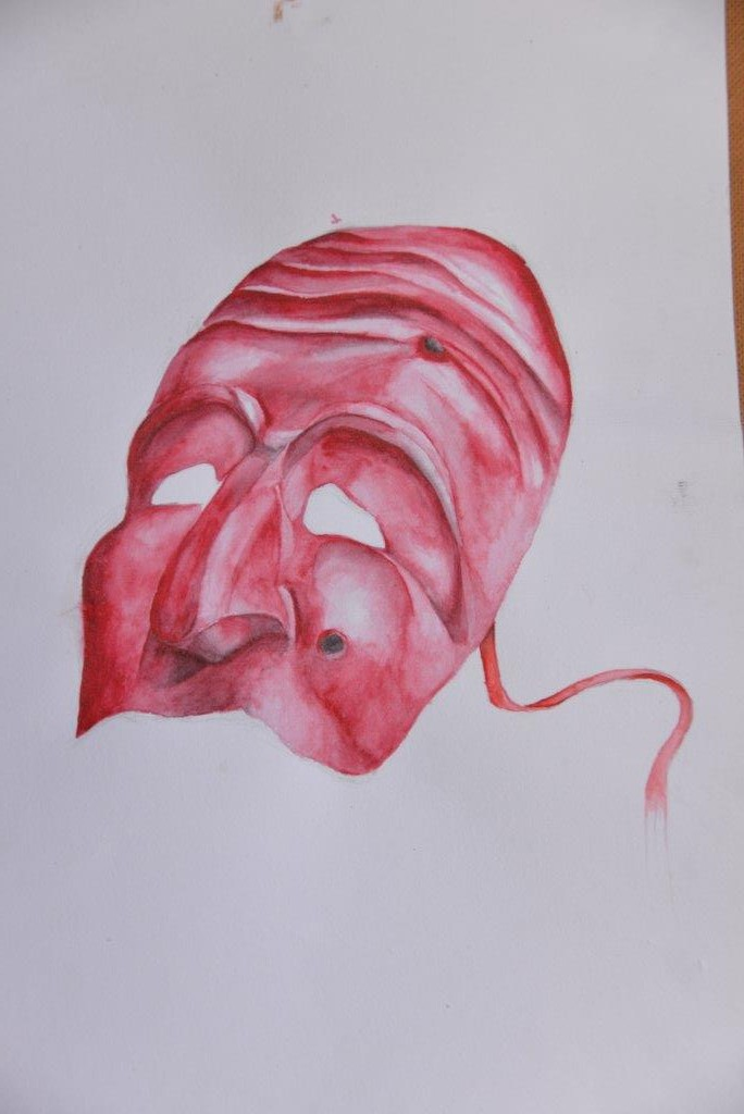 """Venetian mask"" Polina K., 13 years"