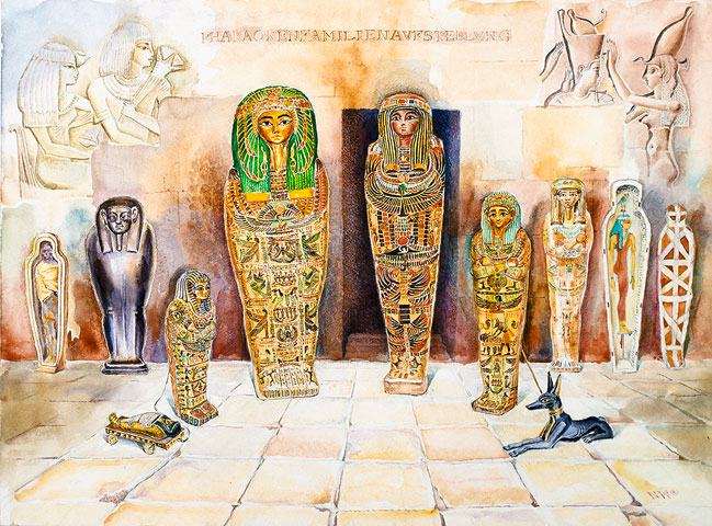Psychoanalysis of the Pharaoh's Family